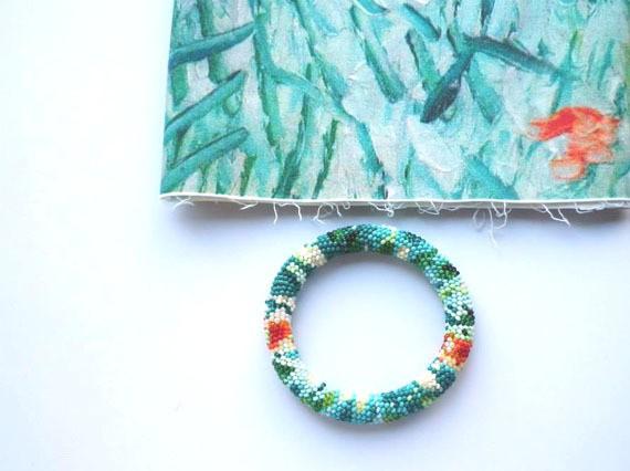 nepinka - van gogh series - bracelet 1