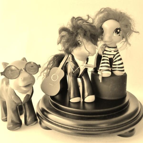 rosie perl - customised My Little Ponies