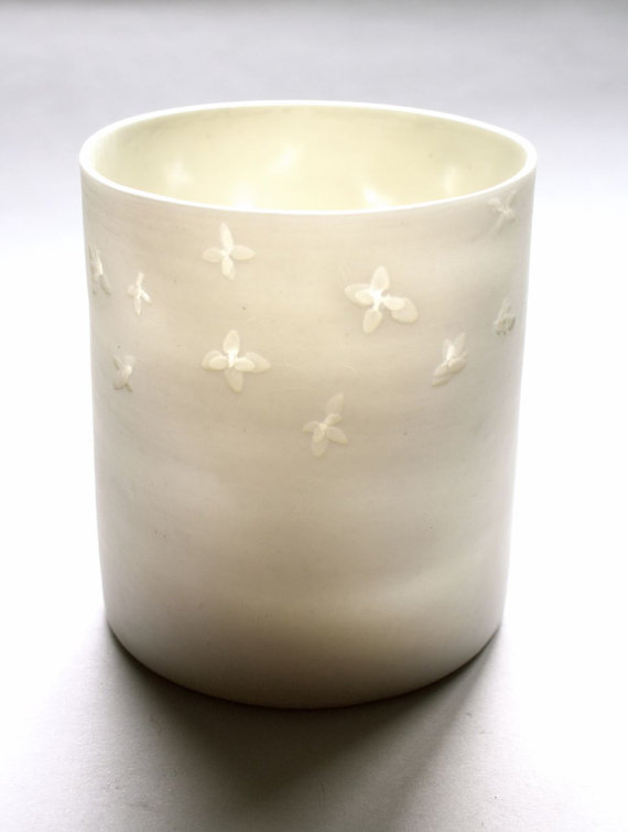 thyme tealight - {kanimblapottery.etsy.com}