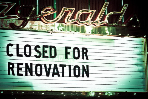 closed for renovations - michael sweeney