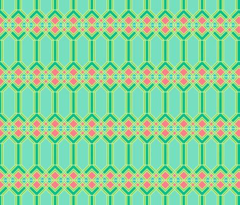 claudia owen - iron bars - green