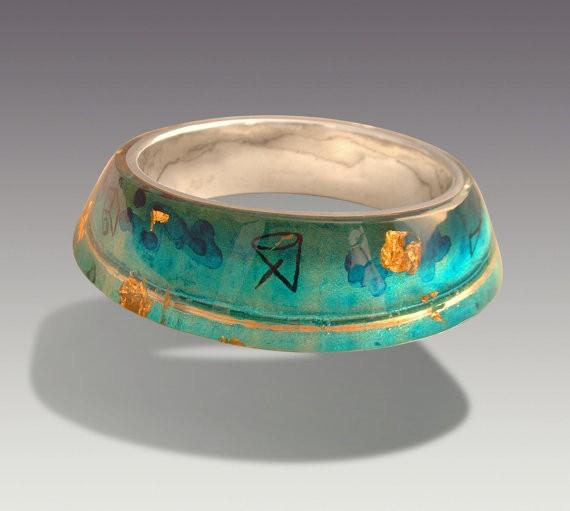 moshiko - celestial lagoon bracelet