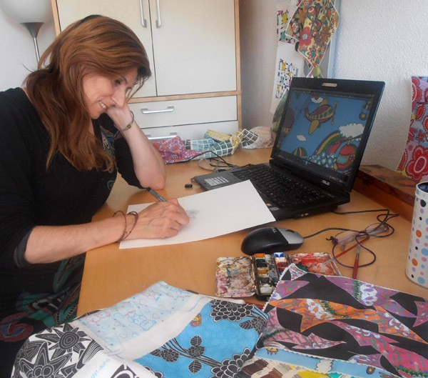 julia grifol at work