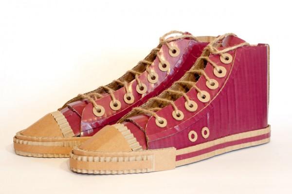 mark obrien - purple high tops