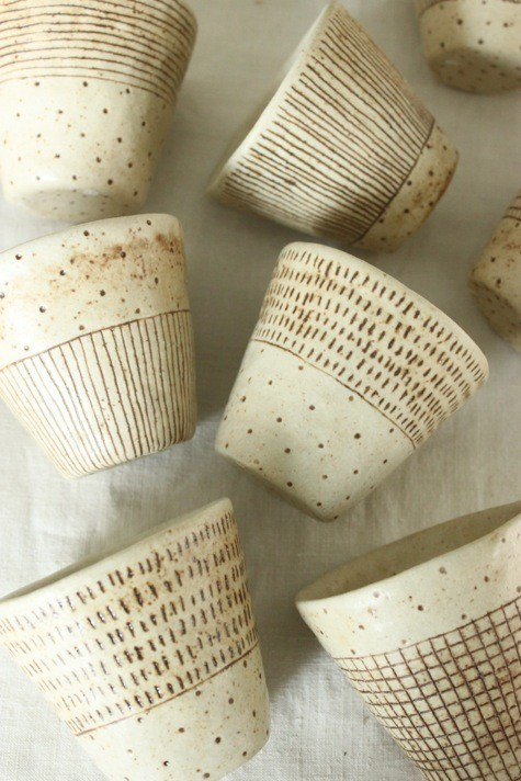 tisaneinfusion -ceramic cups (unfortunately the site is all in japanese)