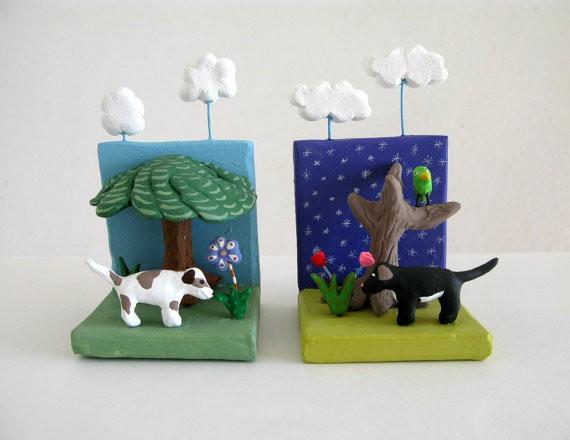 pearson maron - dog sculpture duo