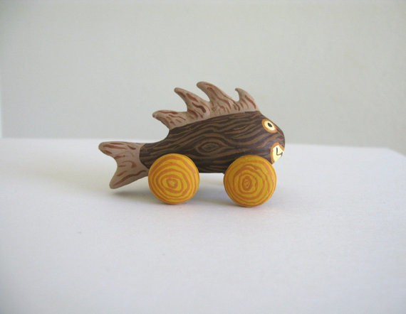 pearson maron - faux bois monster fish