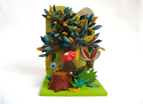 pearson maron - jackalope diorama