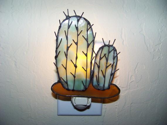 nightlight - trehousestainedglass.etsy.com