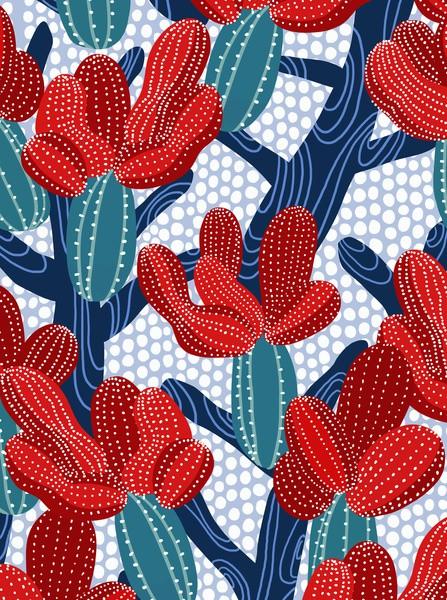 winter cactus - frameless on society6