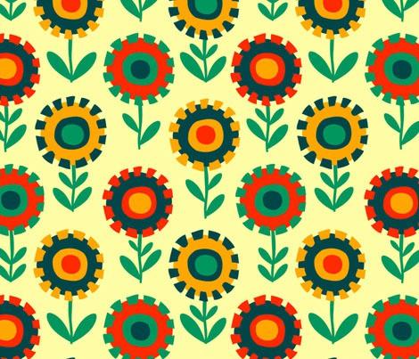 cheerful madness - igor and oleg dandelions calico