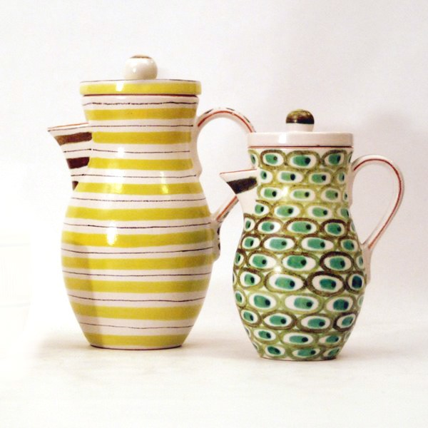 stig lindberg - coffee pots