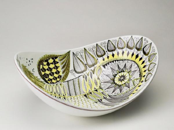 stig lindberg - ornamental bowl