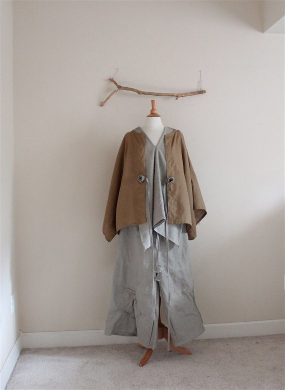 anny schoo - linen jacket shirt and pants