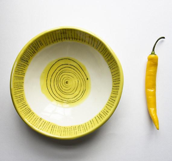 karoArt - spiral platter