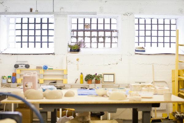 Karo's studio