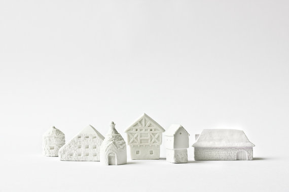 poast - countryside houses set