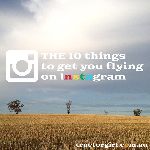 THE 10 things to get you flying on Instagram : Part 3