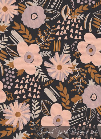 Inspiring : Sarah York {surface design}