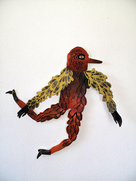 ben conservato - orange birdman
