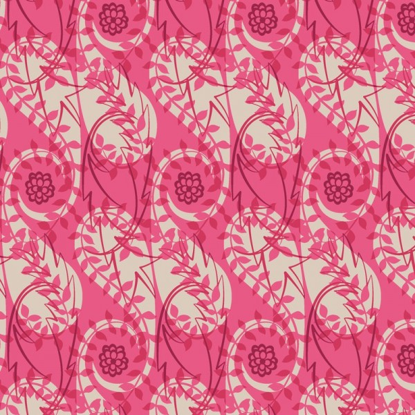 elizabeth halpern - paisley block print pinks