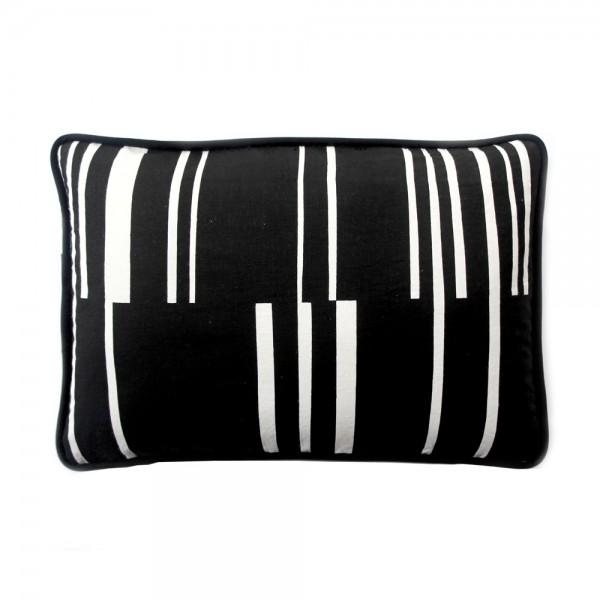 marijke arkley - velden broken stripe cushion