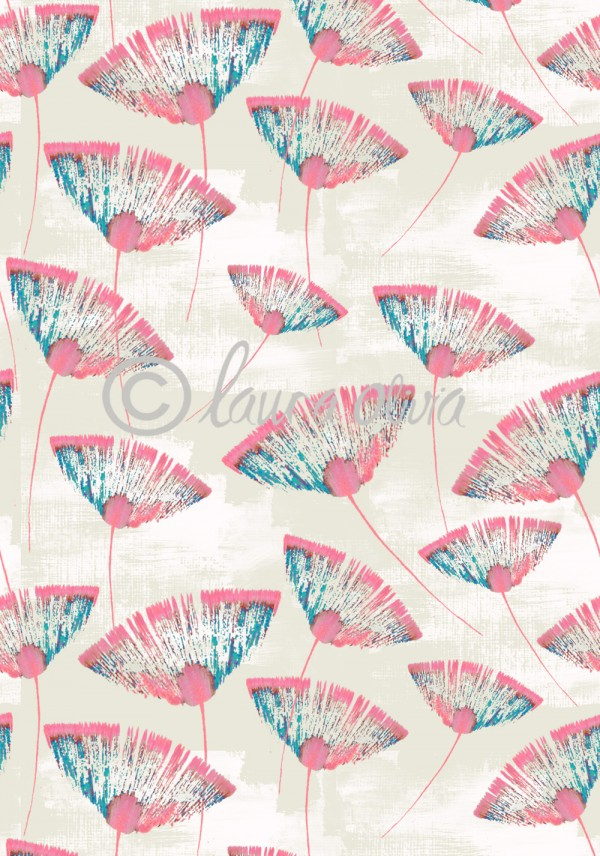 laura olivia - Vietnam Floral Blush