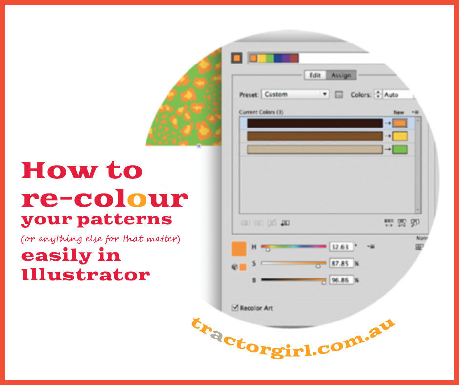 How to Color Patterns in Illustrator