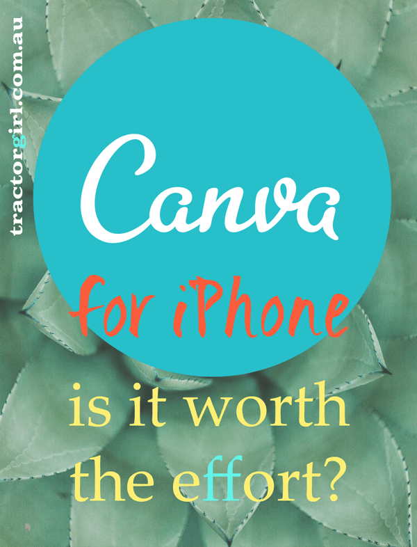 The new Canva app for iPhone – is it worth the effort?