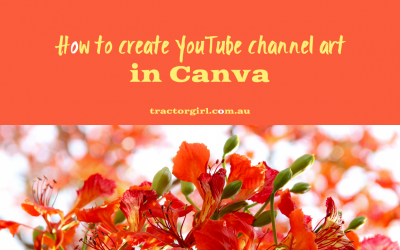 How to make a GREAT YouTube channel banner