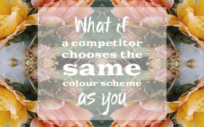 What if your competitors have the same colour scheme as you?